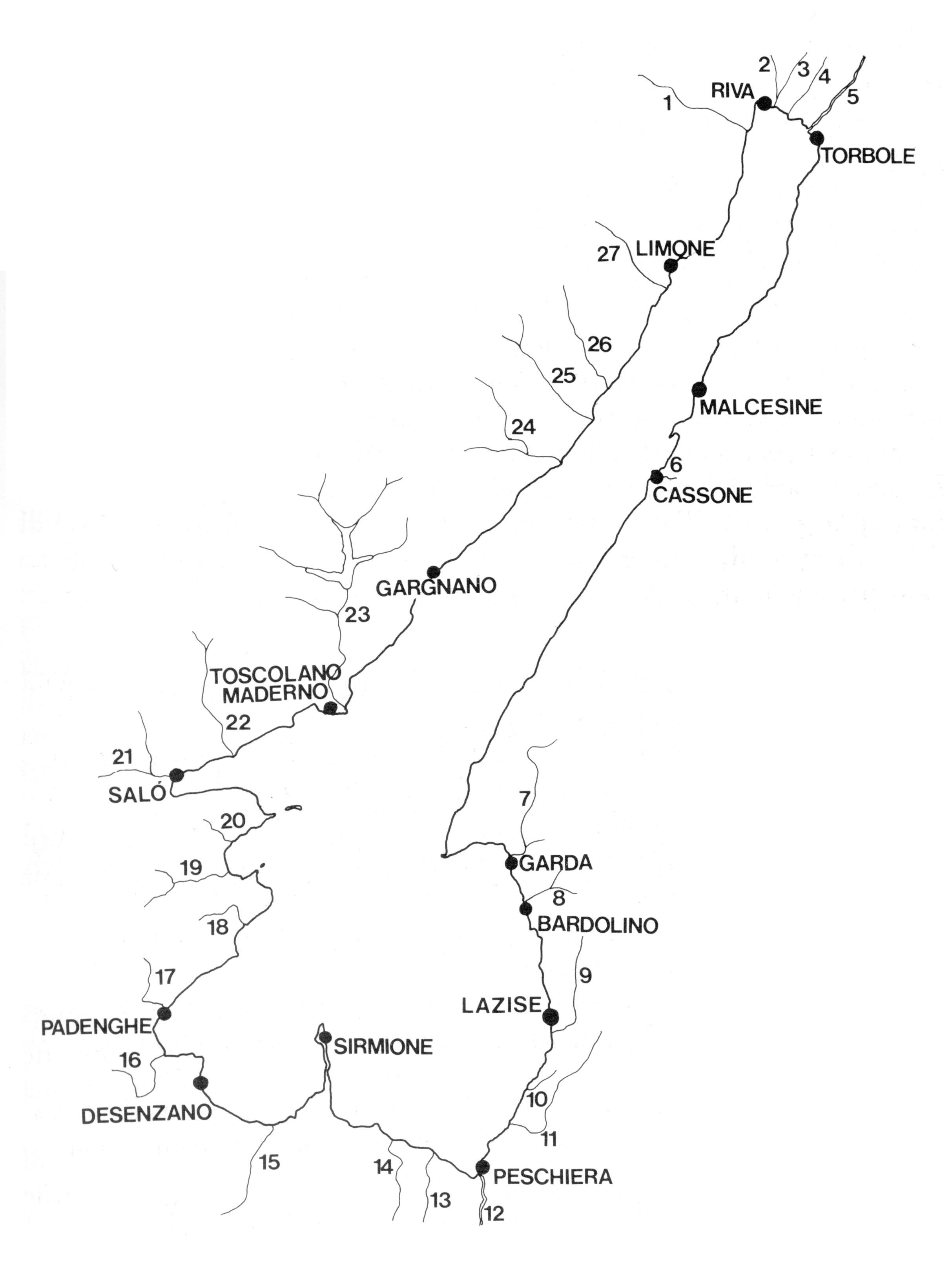 Lago Di Garda Cartina Fisica.Fiumi Ed Isole Del Lago Di Garda Museo Della Pesca E Delle Tradizioni Lacustri