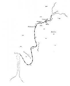 """La catena subacquae nota come """"Monti"""" tra Punta San Vigilio e Sirmione"""