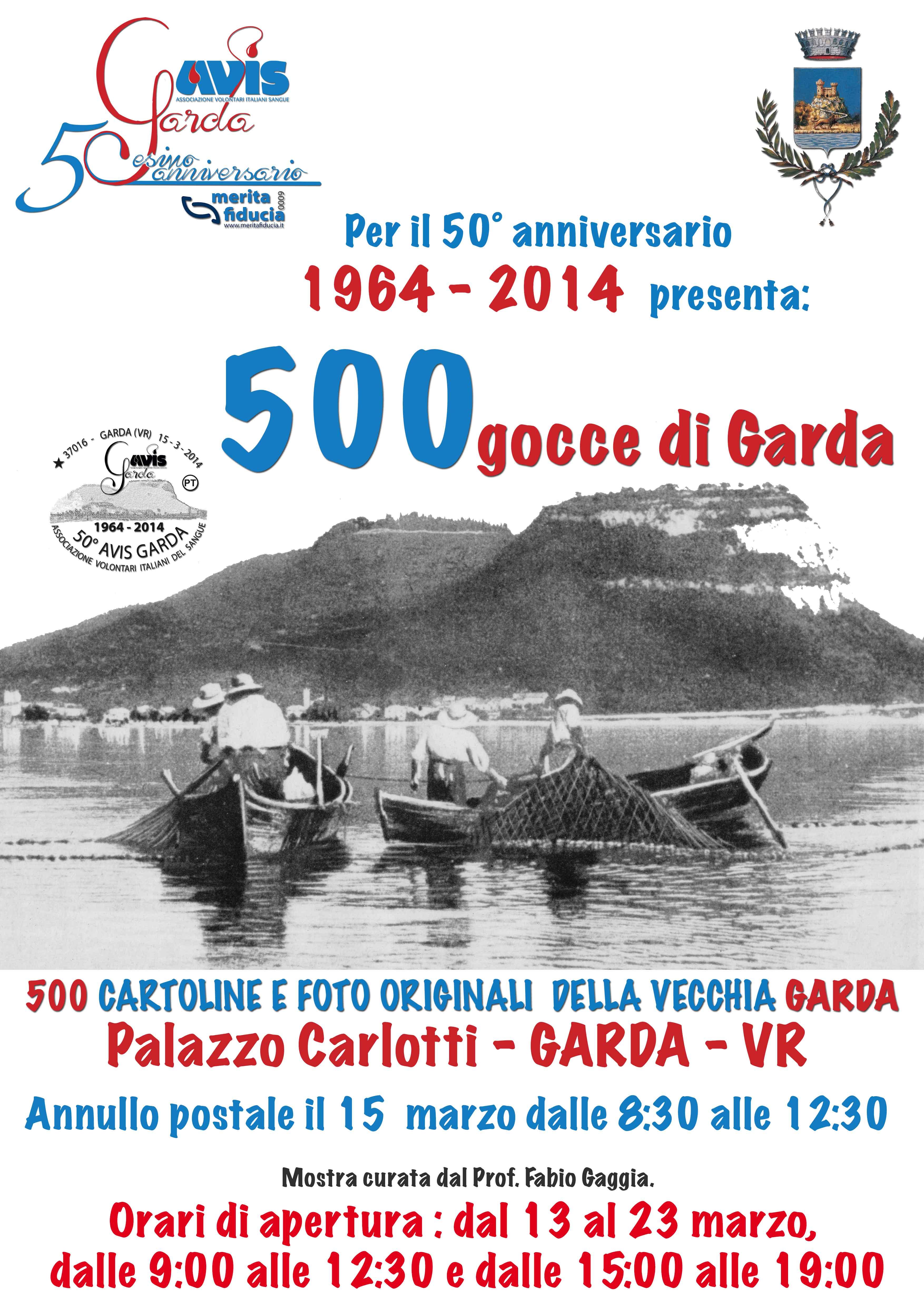 500 gocce di Garda, rassegna fotografica della vecchia Garda